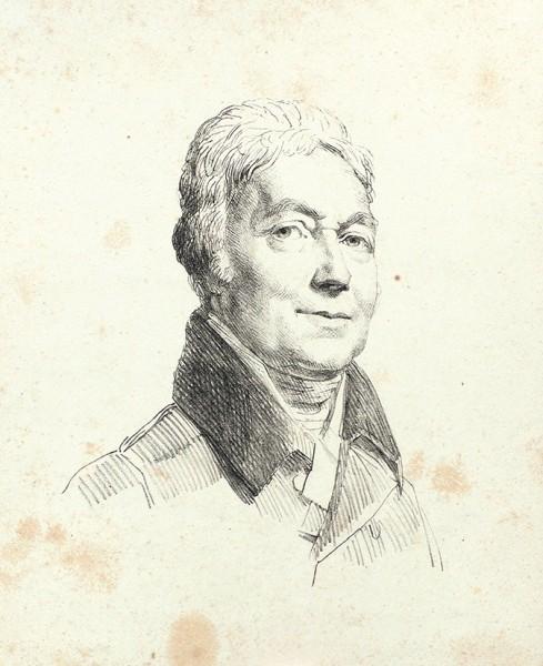 Хейтер Джордж (?) (1792- 1871) «Портрет графа Воронцова». 1820-е. Бумага, литография, 23 х 18,5 см.