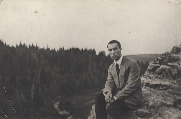 Фотография Бориса Пастернака. 1930-е гг.