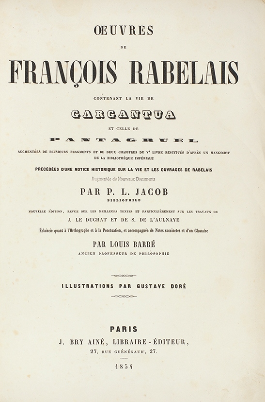 an introduction to the life of francois rabelias Introduction few writers in world literature have had as considerable an influence on letters and later authors or have garnered as much critical attention as françois rabelais.
