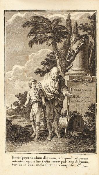Мармонтель, Ж-Ф. Велизер [Belisaire. Par M. Marmontel]. Париж: Chez Merlin, 1767.
