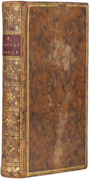 Тит Лукреций Кар. О природе вещей [Titi Lucretii Cari De Rerum Natura]. [На латыни]. В 6 кн. Кн. 1-6. Париж: Ant. Coustelier, 1744.