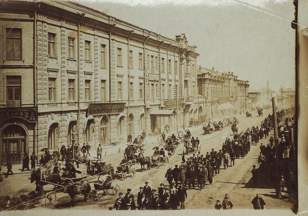 Подборка дореволюционных фотографий г. Красноярска. 1880-1900. 3 шт.