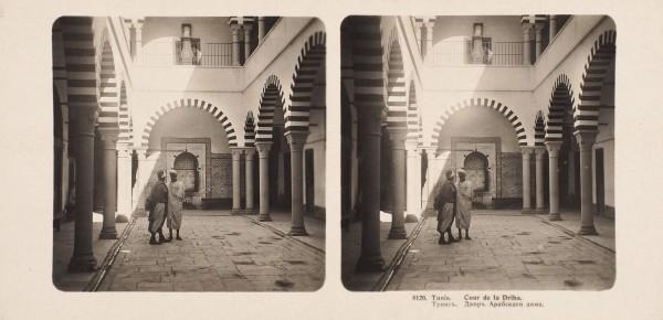 Подборка из 54 стереоскопических открыток с изображениями различных достопримечательностей стран мира. Кисловодск; Амстердам; Гавана; Монако; Тунис, [1889-1903].