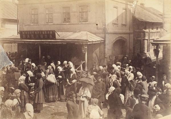 Фотография на паспарту «Елец. Мясоторговля Павлова» .