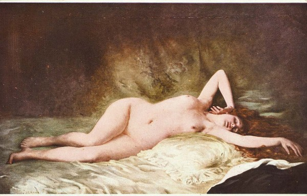 Подборка из 245 открыток эротического содержания «Парижский салон».