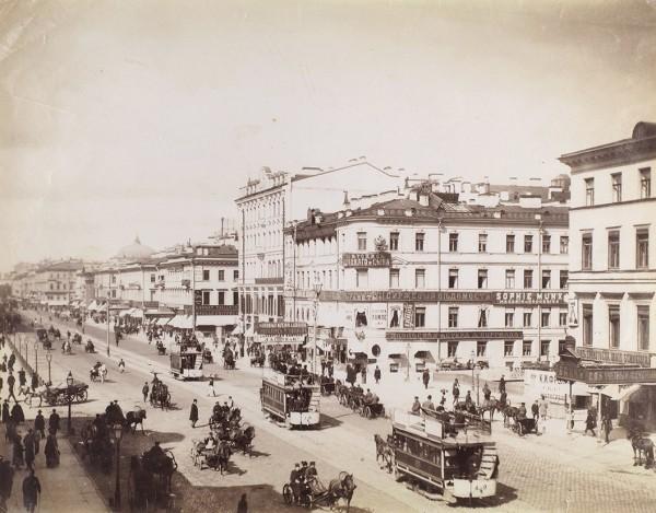 Фотография «Вид Невского проспекта».