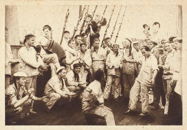 Подборка из 24 открыток «Жизнь и быт Красного флота».