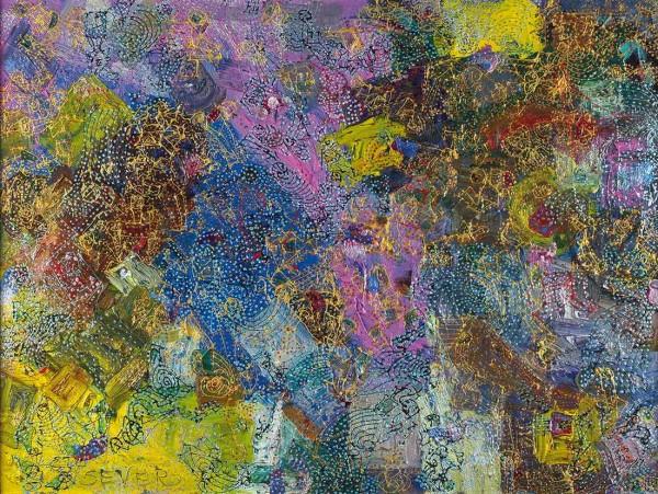 Север Игорь «Description pink». 2000. Холст, масло. 60 х 80 см.