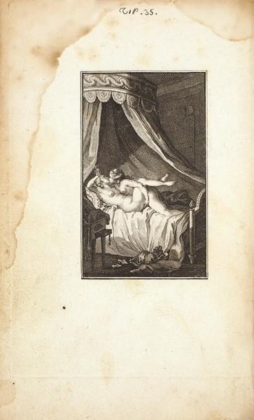 [Редчайшее эротическое издание]. Шорье, Н. Галантные истории Алоизии. В 2 т. Т. 1-2. [Chorier, Nicolas. Le Мeursius Français, ou Entretiens galans d'Aloysia. На франц. яз.]. [Paris: Cazin]: A Cythere, 1782.