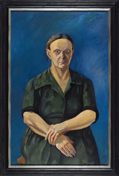 Штеренберг Давид Петрович (1881—1948) «Женский портрет». 1930-е — 1940-е. Холст, масло, 108 х 69,5 см.