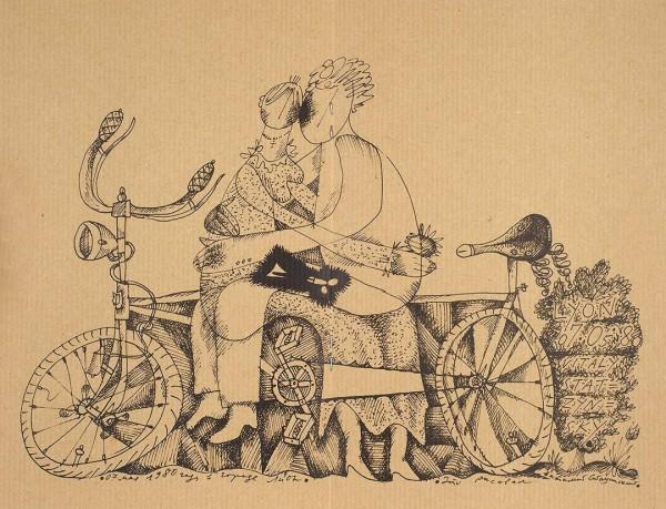 Стацинский Виталий Казимирович. [Vitaly Statzynsky]. «Знаки зодиака». Paris. [1990-2000].