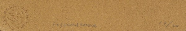 [Вера Хлебникова]. «Безымянные». [Фотоальбом-арт объект]. [М].: [2002].