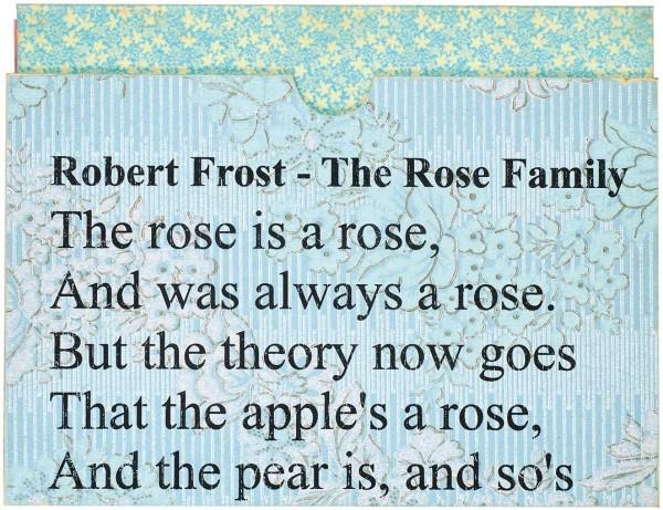 [Виктор Гоппе]. Роберт Фрост. «Семейство розовых». Вступительная статья Ю. Здорова. М.: Изд. В. Гоппе. 2006.