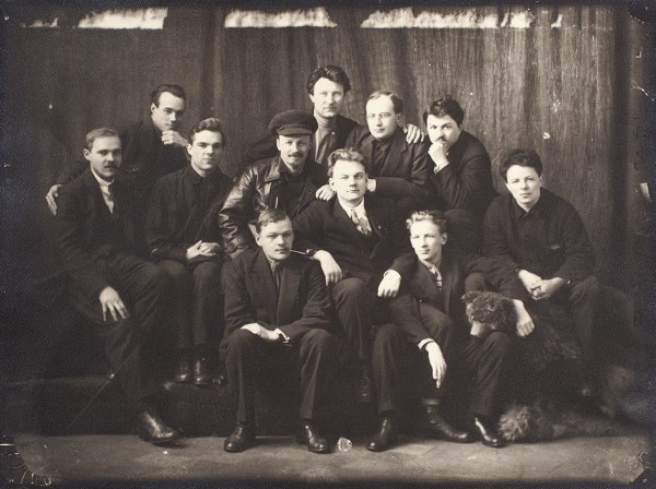 Расстрелянная команда: групповая фотография с участием Николая Ивановича Бухарина и его «красных профессоров». 1920-е гг.